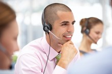 call centre 3 people
